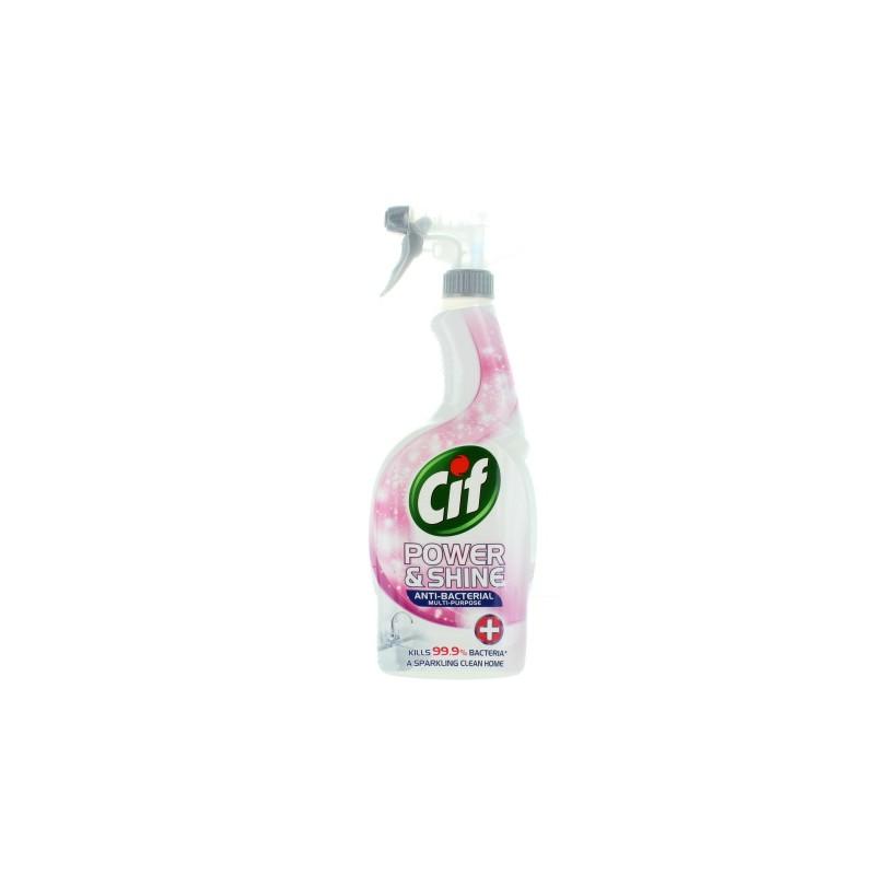 Cif Power Shine Antybakteryjny Spray 750 Ml